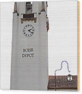 Boise Depot Wood Print