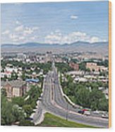 Boise From Boise Depot Tower Wood Print