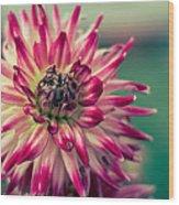 Bokehlicious Flower Wood Print
