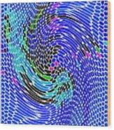 Bold And Colorful Phone Case Artwork Designs By Carole Spandau Cbs Art Angel Fish 112 Wood Print