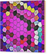 Bold And Colorful Phone Case Artwork Designs By Carole Spandau Cbs Art Exclusives 113 Wood Print