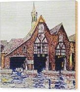 Boldt Castle Boat House Wood Print