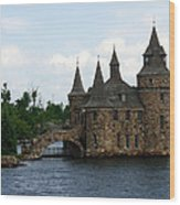 Boldt Castle Powerhouse Wood Print