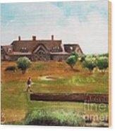 Bolingbrook Golf Club Wood Print