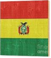 Bolivia Flag Wood Print