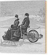 Bollee Carriage, 1898 Wood Print