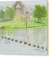 Bolton Abbey Wood Print by Bav Patel