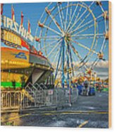 Bolton Fall Fair 3 Wood Print