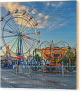 Bolton Fall Fair 4 Wood Print