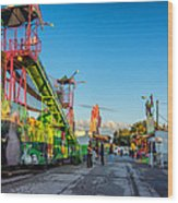 Bolton Fall Fair 5 Wood Print
