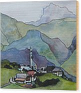 Bolzano Wood Print