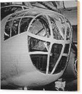 Bomber Wood Print