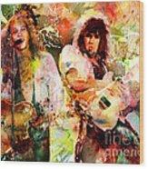 Bon Jovi Original  Wood Print