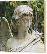 Bonaventure Angels Series - Clipped Wing Wood Print