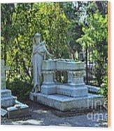 Bonaventure Cemetery 2 Wood Print