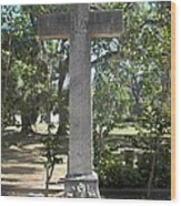 Bonaventure Cross Wood Print