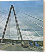 Bond Bridge In Kansas City Wood Print