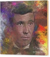 Bond - James Bond 2 - Square Version Wood Print