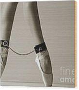Bondage Ballet Wood Print