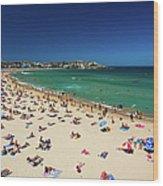 Bondi Beach, Sydney, Australia Wood Print