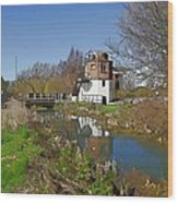 Bonds Mill Area Stroudwater Canal Wood Print