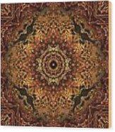 Bone Tapestry 2 Wood Print