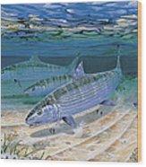 Bonefish Flats In002 Wood Print