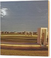 Bonfire Memorial Wood Print