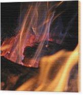 Bonfire Wood Print