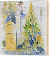 Bonnet House Garden Gate Wood Print