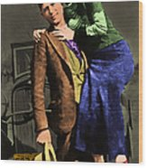 Bonnie And Clyde 20130515 Wood Print