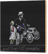Bonnie And Clyde Poster 1967 Death Valley California 1968-2009 Wood Print