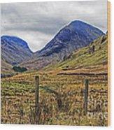 Bonny Scotland Wood Print