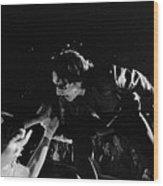 Bono 051 Wood Print