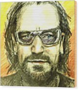 Bono - U2 Wood Print