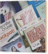 Book Fair In Steenwijk Netherlands Wood Print