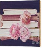 Book Love Wood Print