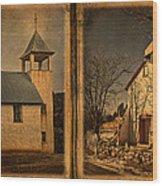 Book Of Churches Wood Print