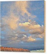 Bookcliffs 170 Wood Print