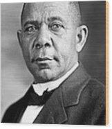 Booker T Washington Wood Print
