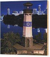 Boom Island Light House Wood Print