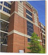 Boone Pickens Stadium Wood Print