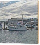 Boothbay Harbor 0231 Wood Print