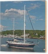 Boothbay Harbor 1390 Wood Print