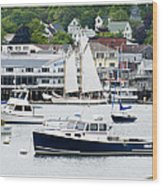 Boothbay Harbor Wood Print