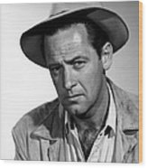 Boots Malone, William Holden, 1952 Wood Print