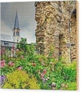 Boppard Garden Ruins Wood Print