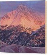 Borah Peak  Wood Print