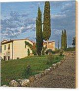 Borgo Bottaia Wood Print
