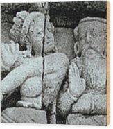 Borobudur Apsara Dancer Wood Print